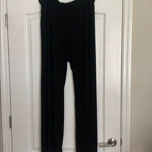 Misses/ladies black Carole Little slacks